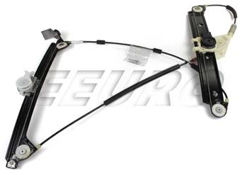 128i Power Convertible//Coupe Passenger Side Front Window Regulator Compatible with 2008-2013 BMW 135i