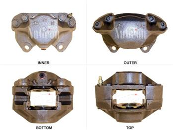 Disc Brake Caliper - Front Passenger Side 2202701R Main Image