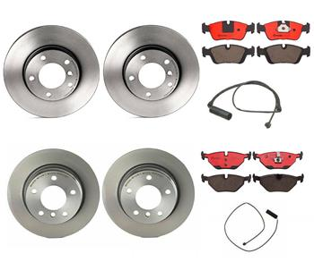 Disc Brake Pad and Rotor Kit - Front and Rear (286mm/280mm) (Ceramic) 1639124KIT Main Image