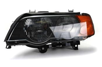 Headlight Assembly - Driver Side (Halogen) (Amber Turnsignal) 63126930209 Main Image