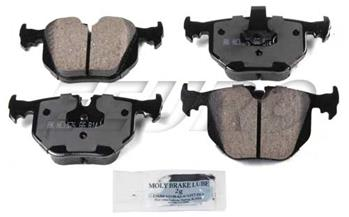 Disc Brake Pad Set - Rear EUR683 Main Image