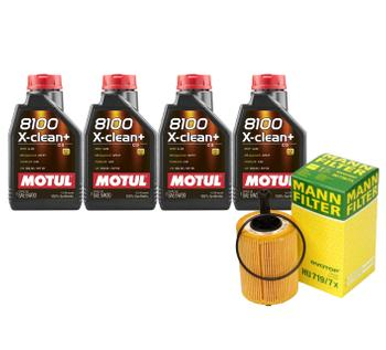 Engine Oil Change Kit (5W-30) (4 Liter) (X-CLEAN+ 8100) 3090099KIT Main Image
