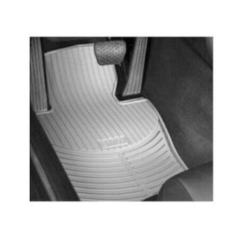 Floor Mat Set - Front and Rear (All Weather) (Rubber) (Gray) 4131910KIT Main Image