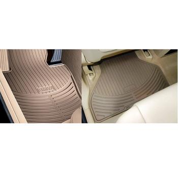 Floor Mat Set - Front and Rear (All Weather) (Rubber) (Beige) 4131902KIT Main Image