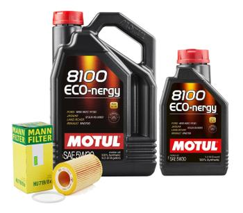 Engine Oil Change Kit (5W-30) (6 Liter) (ECO-NERGY 8100) 3092394KIT Main Image