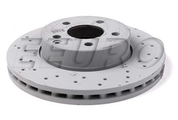Disc Brake Rotor - Front (295mm) (Cross-drilled) 2044212812 Main Image
