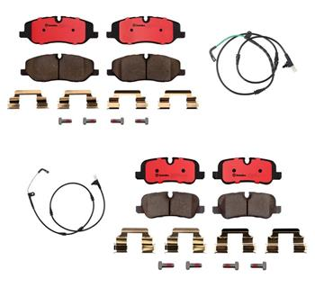 Brake Pad Set Kit - Front and Rear (Ceramic) 1555311KIT Main Image
