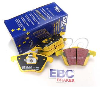 FAST STREET, TRACK, RACE EBC YELLOWSTUFF BRAKE PADS REAR DP42215R