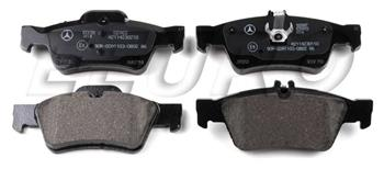 Disc Brake Pad Set - Rear 007420102041 Main Image