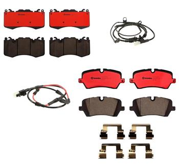Brake Pad Set Kit - Front and Rear (Ceramic) 1557473KIT Main Image