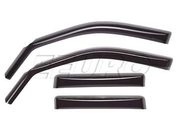 Window Rain Deflector Set - Front and Rear (Dark Smoke) WT82386 Main Image