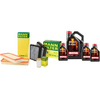 Engine Oil Change Kit (0W40) (8 Liter) (X-MAX 8100) 3806431KIT Main Image