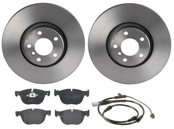 Disc Brake Pad and Rotor Kit - Front (348mm) (Low-Met) 1514331KIT Main Image