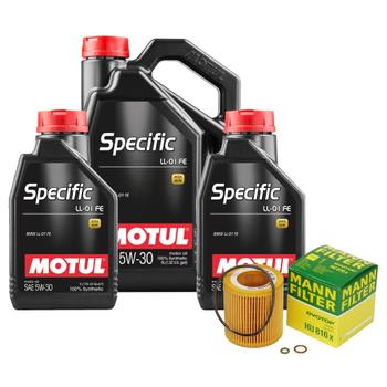 Engine Oil Change Kit (5W-30) (7 Liter) (SPECIFIC LL-01 FE) 3092806KIT Main Image