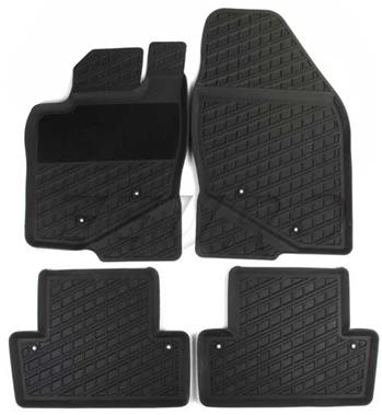 Floor Mat Set (All-Weather) (Gray) 39891775 Main Image