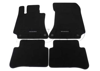 Floor Mat Set (Black) 21268043019J74 Main Image