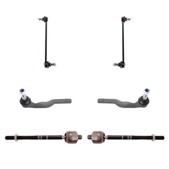 Steering Tie Rod End Kit - Front Inner and Outer (Driver and Passenger Side) (with Sway Bar Links) 3321712KIT Main Image