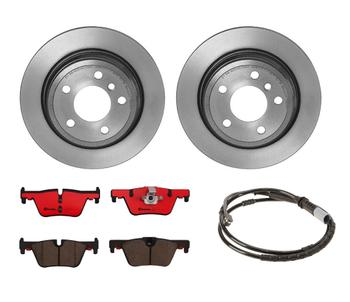 Disc Brake Pad and Rotor Kit - Rear (300mm) (Ceramic) 1535920KIT Main Image