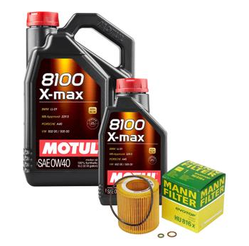 Engine Oil Change Kit (0W-40) (6 Liter) (X-MAX 8100) 3090228KIT Main Image