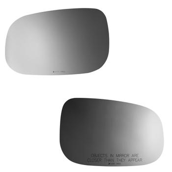 Door Mirror Glass Set - Drive Flat and Passenger Convex Side (Heated) (with Motor Mount) 4190367KIT Main Image