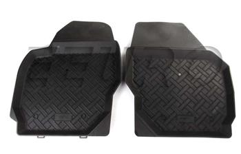 Floor Mat Set - Front (All-Weather) (Black) 224225 Main Image
