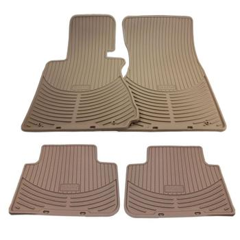 Floor Mat Set - Front and Rear (All Weather) (Rubber) (Beige) 4131939KIT Main Image