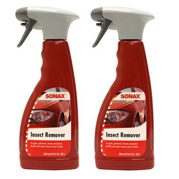 Bug and Insect Remover For Gloss Paintwork Chrome and Plastics (2 x 500ml Spray Bottles) 4132238KIT Main Image