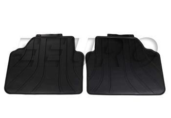 Floor Mat Set - Rear (All-Weather) (Black) 51470427558 Main Image