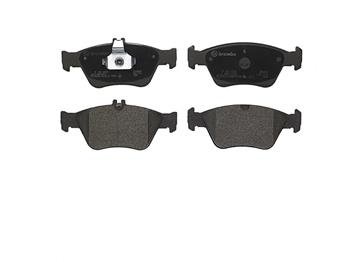 Disc Brake Pad Set - Front (Low-Metallic) P50023 Main Image