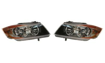 Headlight Set - Driver and Passenger Side (Halogen) 1943989KIT Main Image
