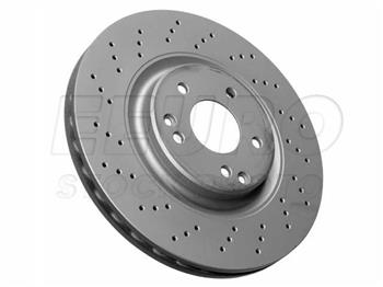 2006 2007 Mercedes Benz C280 4Matic OE Replacement Rotors w//Ceramic Pads F+R