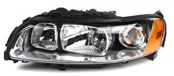 Volvo Headlight Assembly - Driver Side (Halogen)