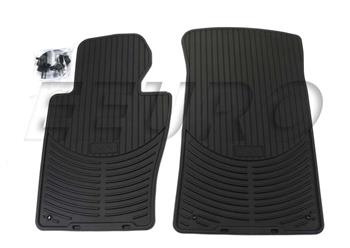 Floor Mat Set - Front (All-Weather) (Black) 82550136372 Main Image