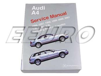 Repair Manual - Audi A4 (B5) A401 Main Image