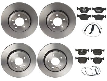 Disc Brake Pad and Rotor Kit - Front and Rear (325mm/320mm) (Low-Met) 2858937KIT Main Image