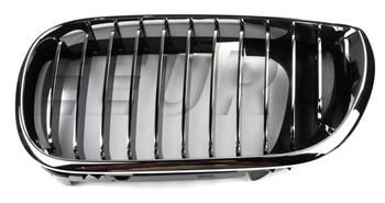 Kidney Grille - Front Driver Side (Chrome) 51137042961 Main Image