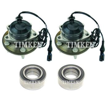 Wheel Bearing and Hub Assembly Kit - Front and Rear 2880914KIT Main Image