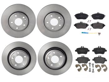 Disc Brake Pad and Rotor Kit - Front and Rear (295mm/295mm) (Low-Met) 1639713KIT Main Image