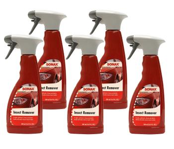 Bug and Insect Remover For Gloss Paintwork Chrome and Plastics (5 x 500ml Spray Bottles) 4132241KIT Main Image