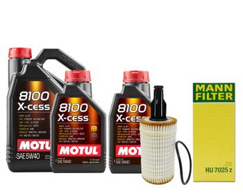 Engine Oil Change Kit (5W40) (7 Liter) (X-CESS 8100) 3101746KIT Main Image