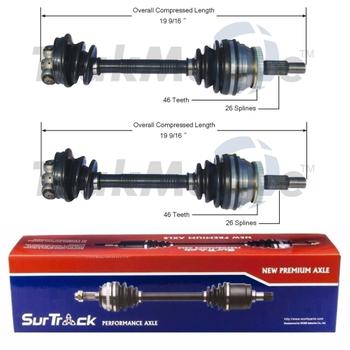 CV Axle Shaft Kit - Front Driver and Passenger Side 3973099KIT Main Image
