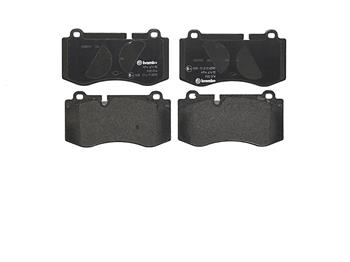 Disc Brake Pad Set - Front (Low-Metallic) P50074 Main Image