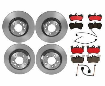 Disc Brake Pad and Rotor Kit - Front and Rear (350mm/330mm) (Ceramic) 1592974KIT Main Image