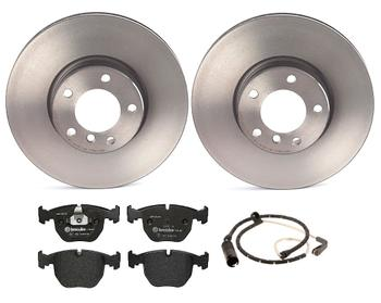 Disc Brake Pad and Rotor Kit - Front (324mm) (Low-Met) 1535324KIT Main Image