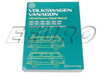 Repair Manual - Vanagon (T3) VV91 Main Image