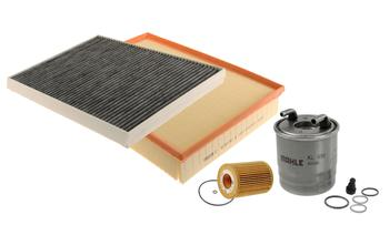 Air / Cabin Air / Fuel / Engine Oil Filter Kit 3086791KIT Main Image