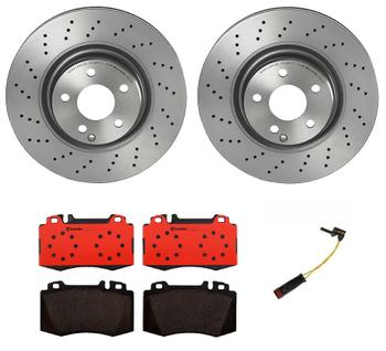 Disc Brake Pad and Rotor Kit - Front (330mm) (Ceramic) 1541371KIT Main Image