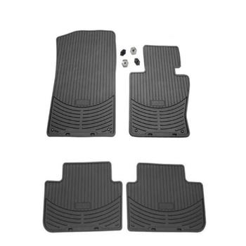Floor Mat Set - Front and Rear (All Weather) (Rubber) (Black) 4155516KIT Main Image
