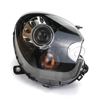 Headlight Assembly - Passenger Side (Xenon) (Black) 63129808266 Main Image