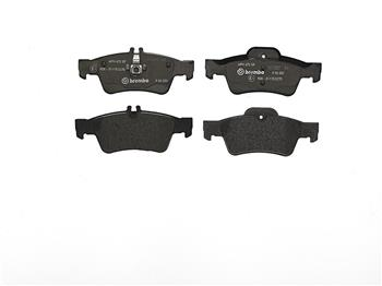Disc Brake Pad Set - Rear (Low-Metallic) P50052 Main Image